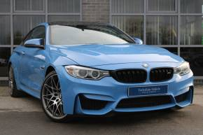 BMW M4 3.0 M4 2dr DCT [Competition Pack] Coupe Petrol Blue at Yorkshire Vehicle Solutions York