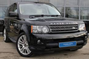 Land Rover Range Rover Sport 3.0 SDV6 HSE 5dr Auto Estate Diesel Black at Yorkshire Vehicle Solutions York
