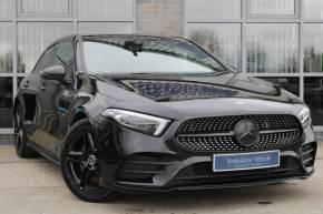 Mercedes-Benz A Class 2.0 A250 AMG Line Premium Plus 5dr Auto Hatchback Petrol Black at Yorkshire Vehicle Solutions York