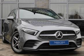 Mercedes-Benz A Class 1.5 A180d AMG Line Premium Plus 5dr Hatchback Diesel Grey at Yorkshire Vehicle Solutions York