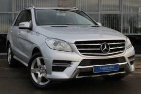 2014 (14) Mercedes-Benz M Class at Yorkshire Vehicle Solutions York