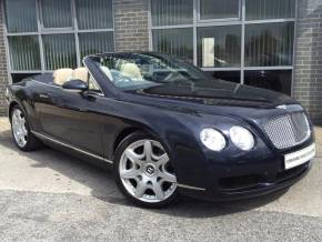 Bentley Continental GTC 6.0 W12 2dr Auto Convertible Petrol Blue at Yorkshire Vehicle Solutions York