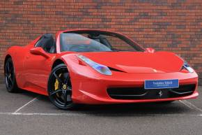 2013 (63) Ferrari 458 at Yorkshire Vehicle Solutions York