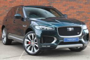 2016 (16) Jaguar F-pace at Yorkshire Vehicle Solutions York