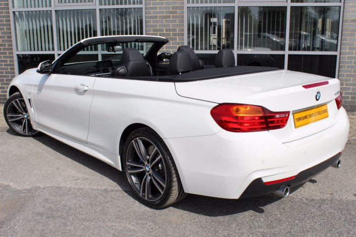 Second Hand BMW Series I M Sport Dr Auto For Sale In York - Bmw 4 series 435i m sport