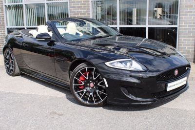 Jaguar XK 5.0 Supercharged V8 Dynamic R 2dr Auto Convertible Petrol Black at Yorkshire Vehicle Solutions York