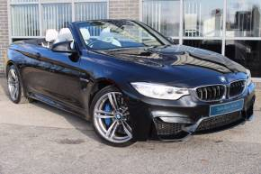 BMW M4 3.0 M4 2dr DCT Convertible Petrol Black at Yorkshire Vehicle Solutions York