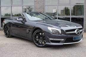 Mercedes-Benz SL Class 5.5 SL 63 2dr Tip Auto Convertible Petrol Grey at Yorkshire Vehicle Solutions York