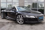 Audi R8 5.2 FSI V10 Spyder R Tronic Quattro Convertible Petrol Black at Yorkshire Vehicle Solutions York