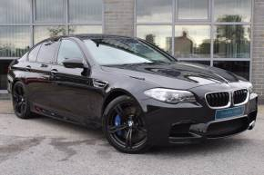 BMW M5 M5 4.4 DCT 4dr Saloon Petrol Black at Yorkshire Vehicle Solutions York