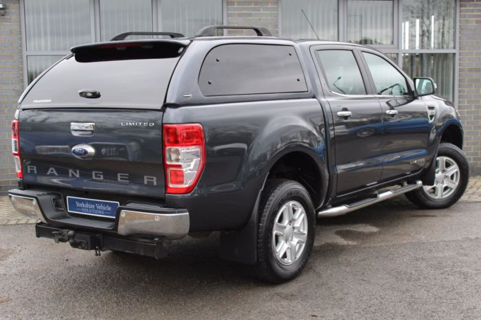 Ford Ranger 2.2 TDCi Limited Double Cab Limited 4WD Pick Up Diesel Grey