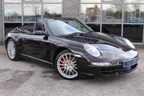Porsche 911 3.8 997 Carrera 4S Cabriolet AWD 2dr Convertible Petrol Black at Yorkshire Vehicle Solutions York
