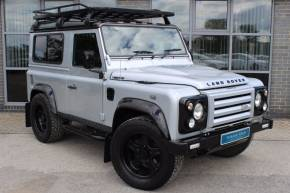 Land Rover Defender 90 2.4 TDI XS Twisted P10 Four Wheel Drive Diesel Silver at Yorkshire Vehicle Solutions York
