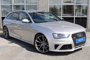 Audi RS4 4.2 FSI Quattro S Tronic Estate Petrol Silver at Yorkshire Vehicle Solutions York
