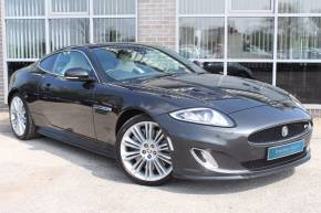 Jaguar Xkr 5.0 Supercharged V8 R 2dr Auto Coupe Petrol Grey at Yorkshire Vehicle Solutions York
