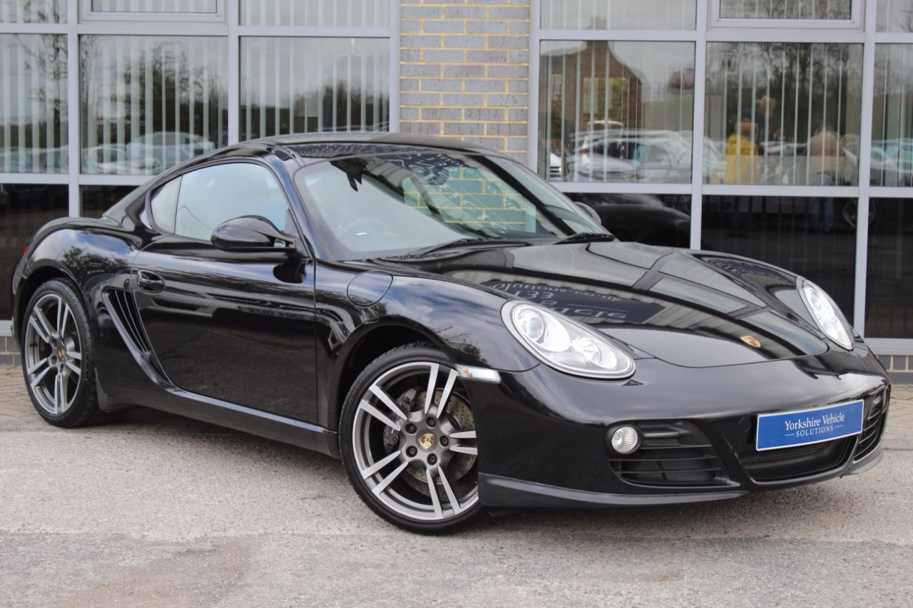 Porsche Cayman 2.9 987 PDK Coupe Petrol Black at Yorkshire Vehicle Solutions York