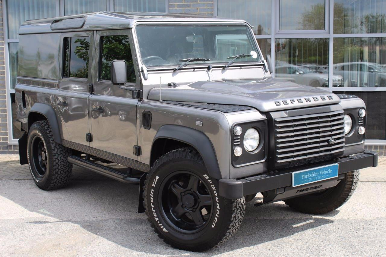 Land rover Defender 2.4 DEFENDER 110 XS TDI D/C Four Wheel Drive Diesel Black at Yorkshire Vehicle Solutions York