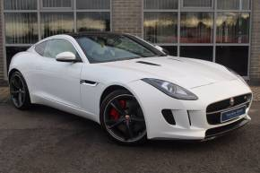 Jaguar F-type 3.0 V6 Supercharged Quickshift Coupe Petrol White at Yorkshire Vehicle Solutions York