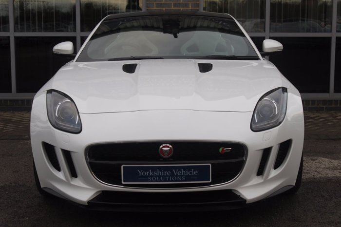 Jaguar F-type 3.0 V6 Supercharged Quickshift Coupe Petrol White
