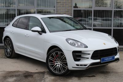 Porsche Macan 3.6 Turbo PDK Estate Petrol WhitePorsche Macan 3.6 Turbo PDK Estate Petrol White at Yorkshire Vehicle Solutions York