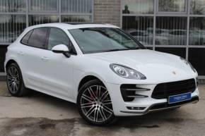 Porsche Macan 3.6 Turbo PDK Estate Petrol White at Yorkshire Vehicle Solutions York