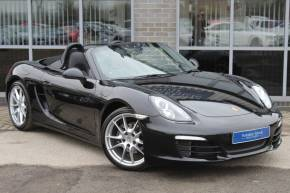 Porsche Boxster 2.7 981 PDK 2dr Convertible Petrol Black at Yorkshire Vehicle Solutions York