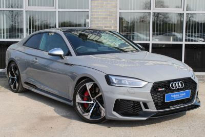 Audi RS5 2.9 TFSI Quattro 2dr Tiptronic Coupe Petrol Grey at Yorkshire Vehicle Solutions York