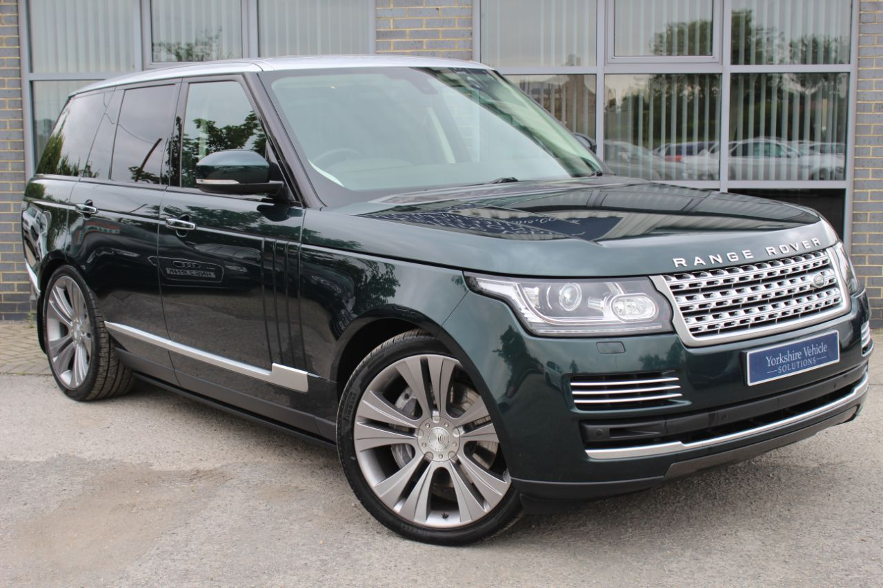 Land Rover Range Rover 4.4 SDV8 Vogue SE Auto Estate Diesel Green at Yorkshire Vehicle Solutions York