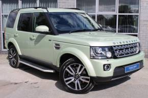 Land Rover Discovery 4 3.0 SDV6 HSE Luxury 5dr Auto Estate Diesel Green at Yorkshire Vehicle Solutions York
