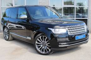 Land Rover Range Rover 4.4 SDV8 Autobiography Auto Estate Diesel Black at Yorkshire Vehicle Solutions York
