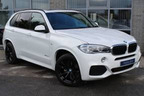 BMW X5 3.0 xDrive30d M Sport 5dr Auto [7 Seat] Estate Diesel White at Yorkshire Vehicle Solutions York