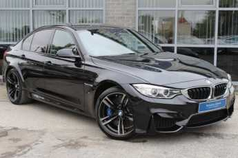 BMW M3 M3 3.0 M DCT Saloon Petrol Black at Yorkshire Vehicle Solutions York