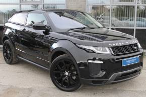Land Rover Range Rover Evoque 2.0 TD4 HSE Dynamic 3dr Auto Coupe Diesel Black at Yorkshire Vehicle Solutions York