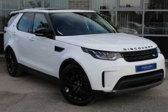 Land Rover Discovery 3.0 TD6 HSE Auto Estate Diesel White at Yorkshire Vehicle Solutions York