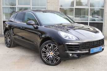 Porsche Macan 3.0 S PDK Estate Petrol Black at Yorkshire Vehicle Solutions York
