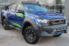 Ford Ranger Pick Up Double Cab MS-RT M Sport Limited 2 3.2 TDCi Auto Pick Up Diesel Blue at Yorkshire Vehicle Solutions York