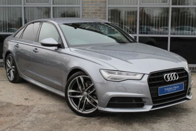 Audi A6 2.0 TDI Ultra Black Edition 4dr S Tronic Saloon Diesel Grey at Yorkshire Vehicle Solutions York