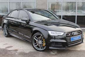 Audi S3 2.0 TFSI Quattro Black Edition 4dr S Tronic Saloon Petrol Black at Yorkshire Vehicle Solutions York