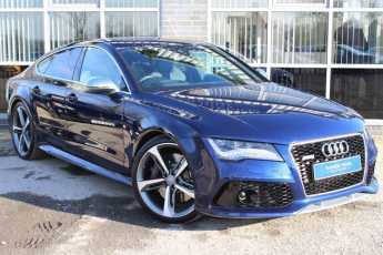 Audi RS7 4.0 TFSI V8 Quattro 5dr Tip Auto Hatchback Petrol Blue at Yorkshire Vehicle Solutions York