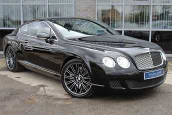 Bentley Continental GT 6.0 W12 Speed 2dr Auto Coupe Petrol Black at Yorkshire Vehicle Solutions York