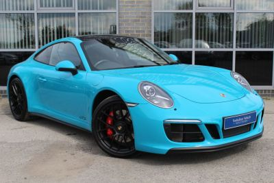 Porsche 911 3.0 Carrera GTS 991.2 PDK Coupe Petrol Blue at Yorkshire Vehicle Solutions York