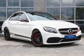 Mercedes-Benz C Class 4.0 C63 S Edition 1 4dr Auto Saloon Petrol White at Yorkshire Vehicle Solutions York