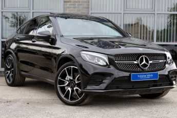 Mercedes-Benz GLC Coupe 3.0 GLC43 AMG Bi Turbo 4Matic Premium Plus 9G-Tronic Coupe Petrol Black at Yorkshire Vehicle Solutions York