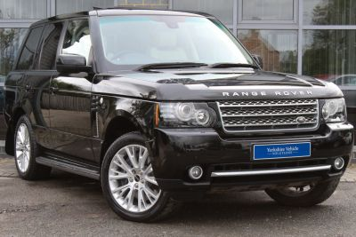 Land Rover Range Rover 4.4 TDV8 Westminster Auto Estate Diesel Black at Yorkshire Vehicle Solutions York