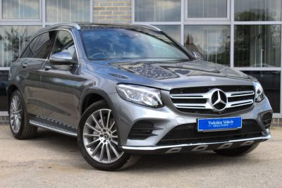 Mercedes-Benz GLC 3.0 GLC 350d 4Matic AMG Line Premium Plus 9G-Tronic Estate Diesel Grey at Yorkshire Vehicle Solutions York