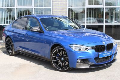 BMW 3 Series 3.0 335d XDrive M Sport Step Auto Saloon Diesel Blue at Yorkshire Vehicle Solutions York