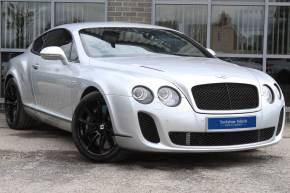 Bentley Continental Supersports 6.0 W12 Auto Coupe Petrol Silver at Yorkshire Vehicle Solutions York