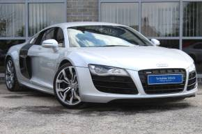 Audi R8 5.2 V10 FSI Quattro Coupe Petrol Silver at Yorkshire Vehicle Solutions York