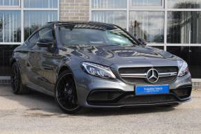 Mercedes-Benz C Class 4.0 C63 Premium 2dr Auto Coupe Petrol Grey at Yorkshire Vehicle Solutions York