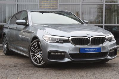 BMW 5 Series 2.0 520d M Sport 4dr Auto Saloon Diesel Blue at Yorkshire Vehicle Solutions York